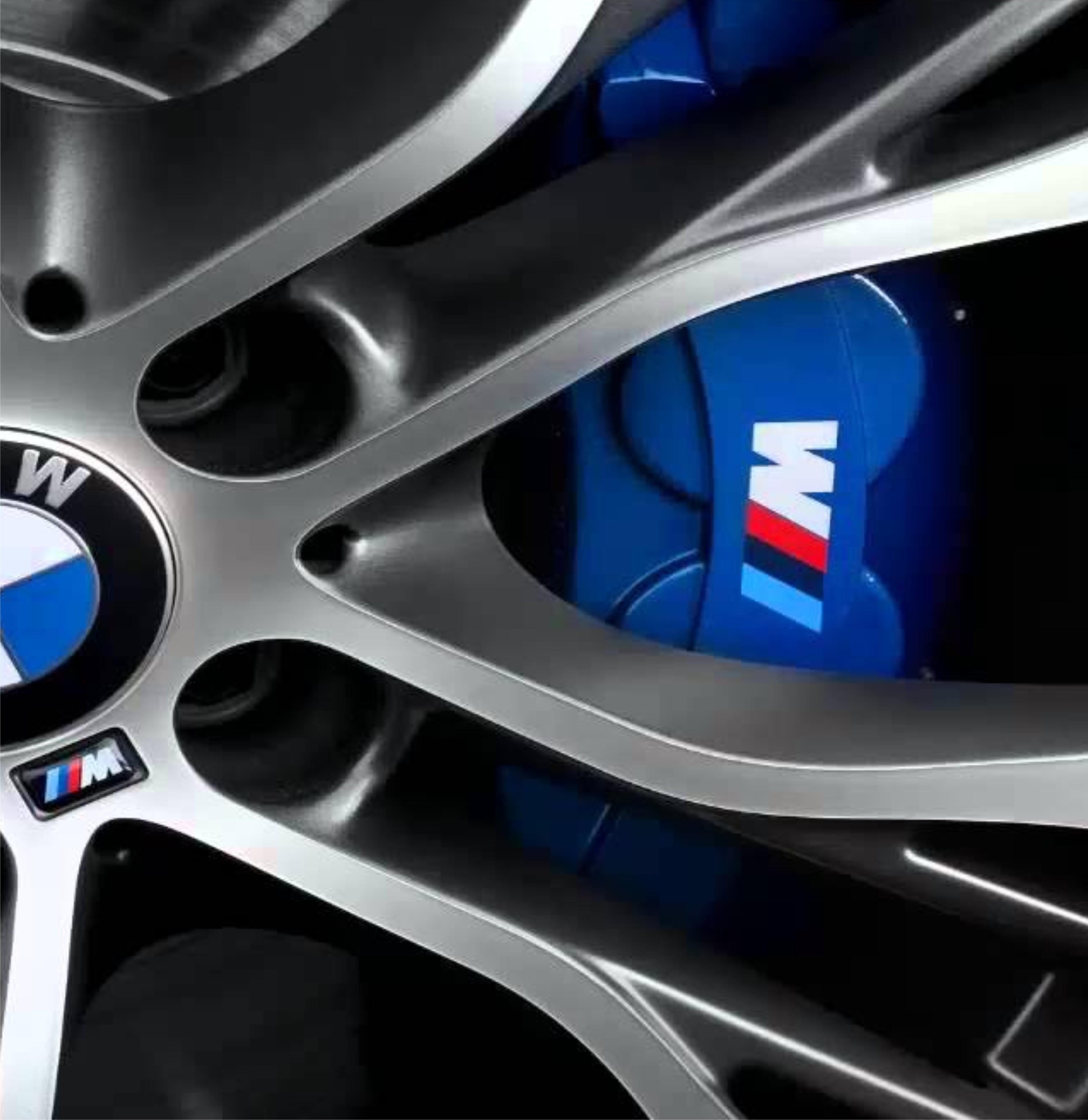 Details About Bmw M Sport M Tec Caliper Sticker Decal Logo F10 F20 F30 E60 E70 E71 E90 E91